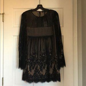 BCBG Luann Floral Lace Dress